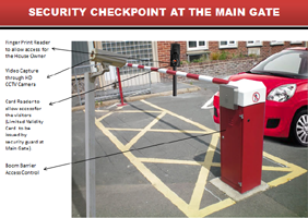 Boom Barrier Access Control